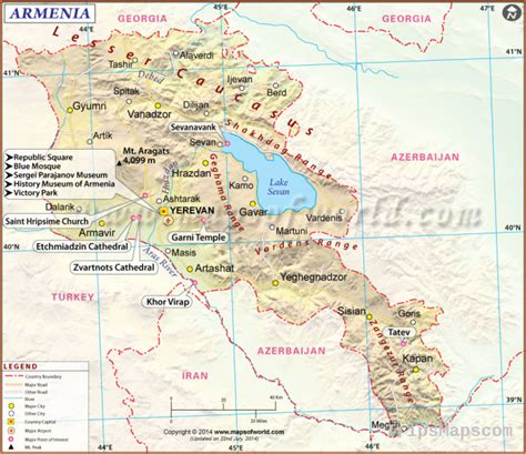map  yerevan armenia   yerevan armenia
