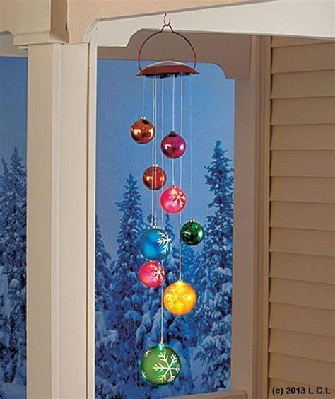 solar ornament mobile  stock christmas holiday outdoor