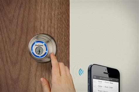 kevo door lock kevo bluetooth enabled deadbolt lock opens with just a touch
