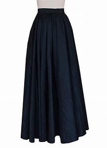 E K Womenu0026#39;s plus size long full circle taffeta skirt Maxi evening prom formal at Amazon Womenu2019s ...