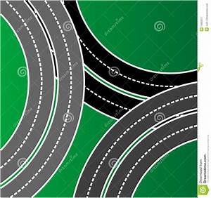 Road top view stock vector. Image of sign, graphic ...