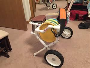 Disc Golf Bag Cart