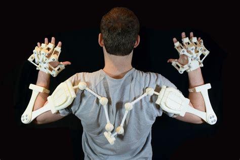 printed exoskeleton arms  model  printable stl