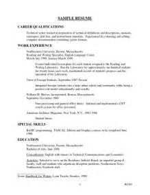 qualification on resume exles sle professional resume summary free resume templates