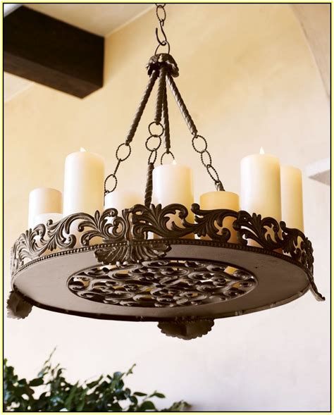 hanging candle chandelier non electric home design ideas