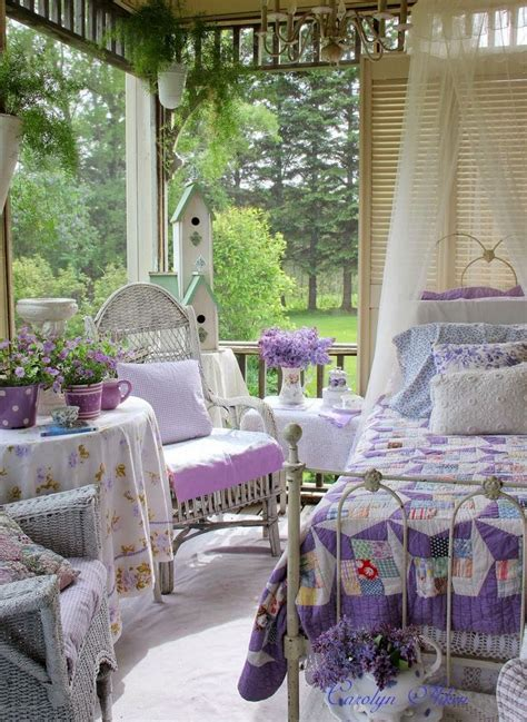 charming  inspiring vintage sunroom decor ideas