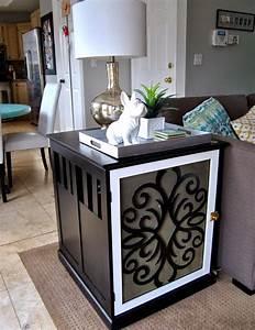 Studio 7 Interior Design: DIY: Dog Crate End Table