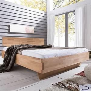 Massiv Bett 140x200 : bett brekstad 140x200 in kernbuche massiv ge lt ~ Indierocktalk.com Haus und Dekorationen