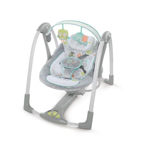 chambre bebe grise balancelle swing n go portable swing hugs hoots de