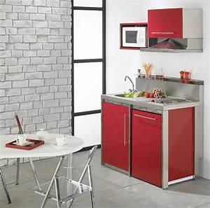 La Kitchenette Moderne Quipe Et Sur Optimise Petite