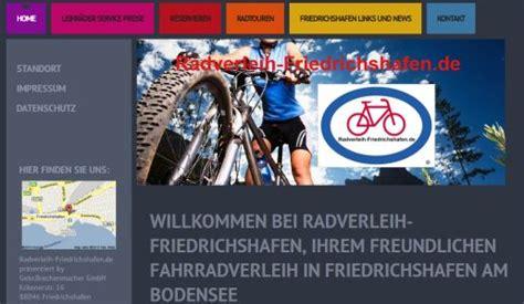 Fahrradverleih Friedrichshafen