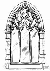 Coloring Pages Cathedral Getcolorings Getdrawings sketch template