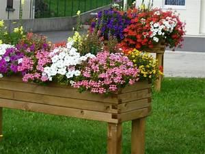 Jardinière En Hauteur : jardini re mibois autoclave surrelev e 100cm x 100cm x ~ Nature-et-papiers.com Idées de Décoration