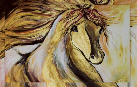 Zelta zirgs - DAVIDS ZAKIS ART