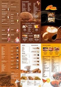 Brera cafetería Diseño gráfico de carta menu Print Pinterest