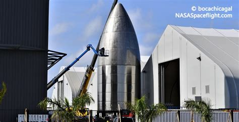 spacex installs flaps   high altitude starships