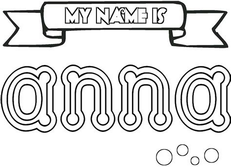 Coloring Names by Names Coloring Pages To And Print For Free