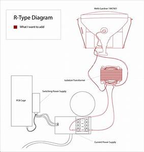 R-type Wiring Diagram  U2013 Adding Older Monitor Without Isolation Transformer
