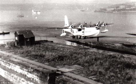 Flying Boats Of Ww2 by Wwii Sunderland Flying Boat Raised From Seabed 65ft Below