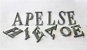 12 bronze letters with serifs sold singly for sale at 1stdibs With bronze letters for sale