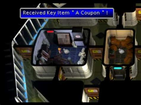 Ff7 Floor 63 Password vii getting the prize coupons in shinra