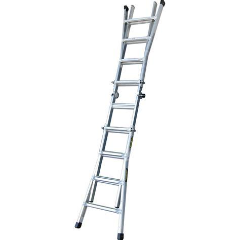 aluminium ladder bunnings gorilla 120kg mighty 15 multi purpose aluminium ladder