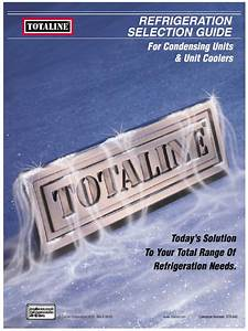 Refrigeration Selection Guide