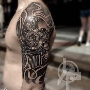 Train Sleeve Tattoo