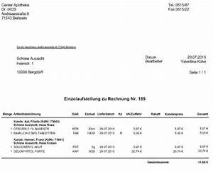 H Und M Rechnung : quittungen und einzelaufstellungen f r heime erstellen ~ Themetempest.com Abrechnung