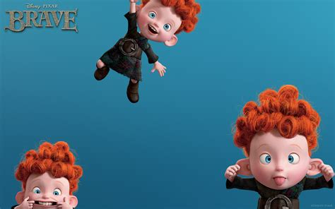 The Triplets 2 - Brave - Mystery Wallpaper