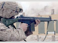Heckler & Koch HK G3 Assault Rifle Battle Rifle Germany