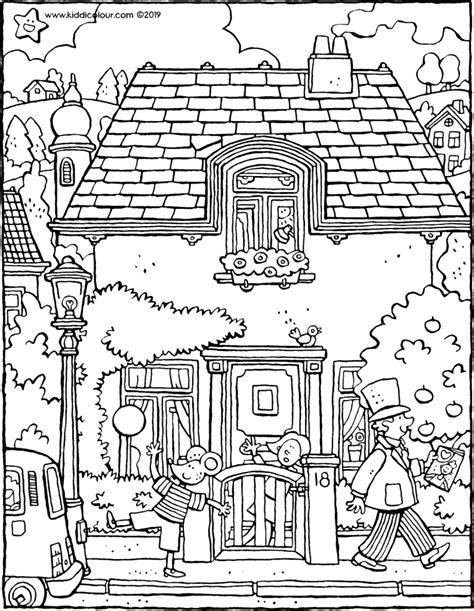 Kleurplaat Huis Met Klimop by Kleurplaten Die Er Echt Toe Doen Kiddikleurprenten