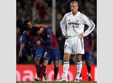 David Beckham is too slow to sink Barcelona MARTIN
