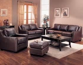 livingroom furniture set gibson leather living room set in brown sofas