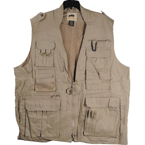 humvee  campco safari photo vest xxx large khaki
