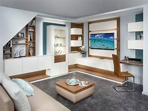 Wohnzimmer Mit Dachschräge : wohnzimmer p max ma m bel tischlerqualit t aus sterreich ~ Lizthompson.info Haus und Dekorationen
