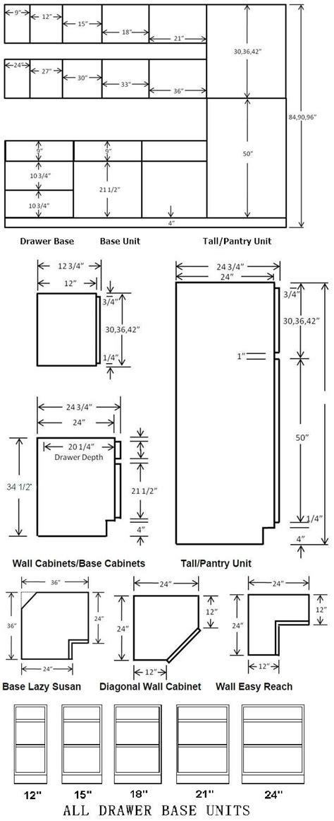 kitchen base cabinet height standard