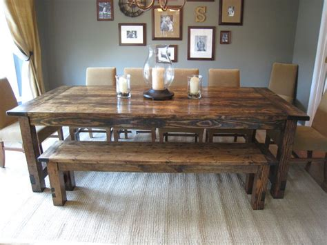 large kitchen table restoration hardware farmhouse table replica they made it 3664