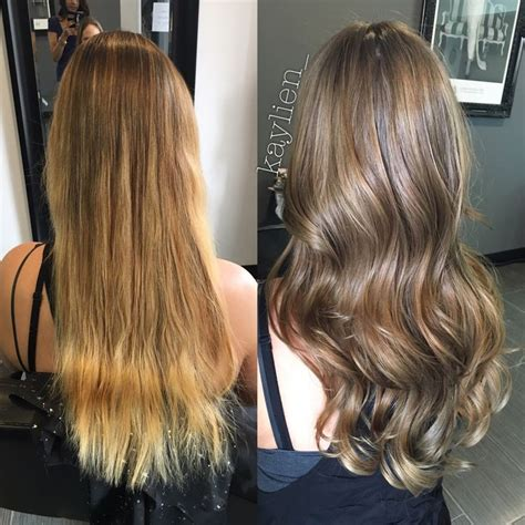 Vs Light Brown Hair by From Golden To A Light Ash Brown Olaplex
