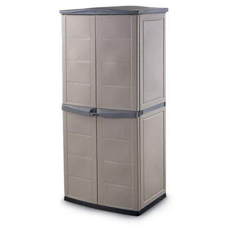 keter storage shed shelves keter 174 vertical storage shed 120821 yard garden at