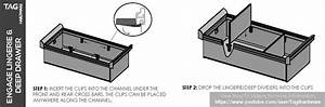 Drawer Organizers Install - Installation Manual