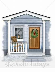 Front Door Clipart Winter Clipart