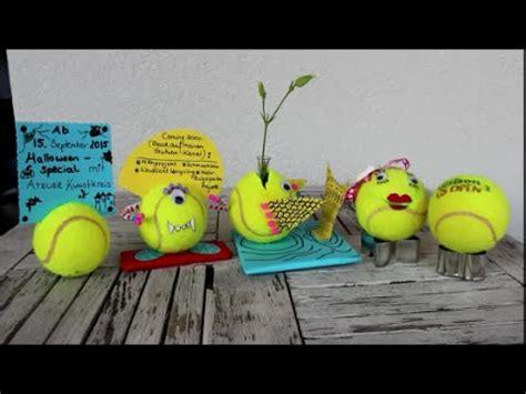 diy tennisball tennisbaelle basteln  upcycling ideen