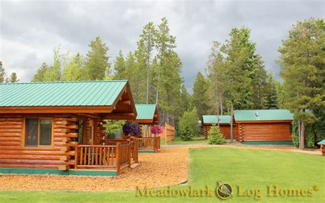 log cabin meadowlark log homes