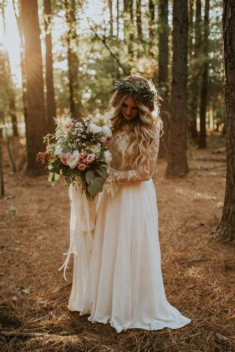 Rustic Bohemian Ranch Wedding In Oklahoma The Bride