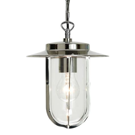 montparnasse porch lantern polished nickel lighting direct