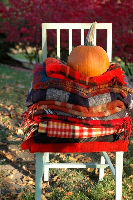 plaid fall decor ideas   cozy touch shelterness