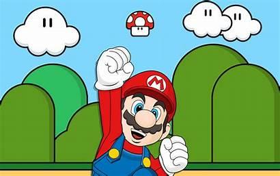 Mario Super Desktop Vector Backgrounds Wallpapers Background