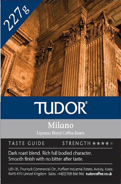 Although we first rate coffee by cup quality, at any given time there is up to 70% certified organic coffee beans. Milano - Tudor Tea & Coffee