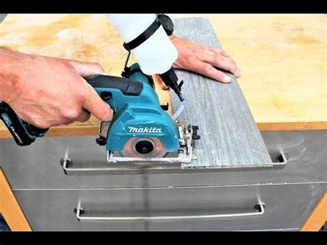 makita cordless  tile  unboxing test review youtube